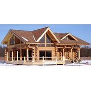 Дома деревянные элитные фото