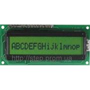 ЖК индикатор BC 1601 AGPLCTb, 16 симв., 1 строка фото