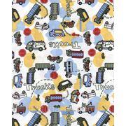 Трикотаж хлопковый кулир с рисунком 30/1 OE; 180 см; 140 гр¤