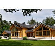 Строительство деревянных домов и коттеджей фото