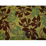 Бифлекс золотистый с цветочным рисунком фото
