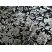 Бифлекс черный с серебряным рисунком фото