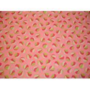 Бифлекс розовый с абстрактным принтом фото