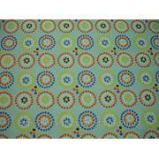 Бифлекс голубой с абстрактным принтом фото