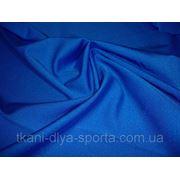 Бифлекс с нежным блеском ярко-синий фото