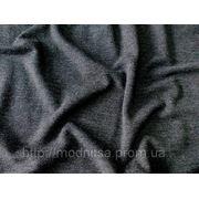 Трикотаж Шелк (темно-серый) (арт. 05277) фото