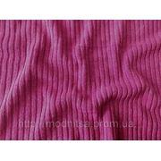 Трикотаж рубчик (розовый) фото