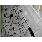 Тюль Квадраты - органза 1015 С -1 фото