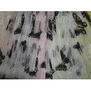 Тюль Бабочка - органза 00015-Л -1 фото