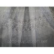 Тюль Ракушка - органза 001-2-Л -1 фото