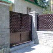 Двери, ворота и калитки фото