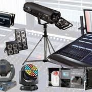 Аренда (прокат) светового оборудования фото