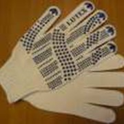 Перчатки защитные из хлопчатобумажной ткани оптом фото