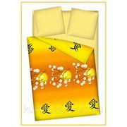 Бязь ш.2.2 Японское солнце оранж фото