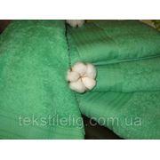 Махровые полотенца гладкокрашеные 70х140 фото