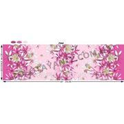 Ткань с лилией розовой