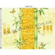 Жёлтый Бамбук ткань бязь набивная фото