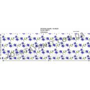 Ткань набивная поликоттон с цветами фото