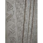 Ткань полотенечная серая «Дельфин» фото