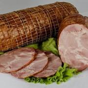 Продукт из свинины мясной копчено-вареный Краковка Дворянская фото