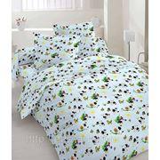 """Сатин набивной """"Blue bed"""" фото"""