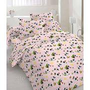 """Сатин набивной """"Pink bed"""" фото"""