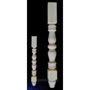 Ножки для мебели №5 - сосна, дуб, бук, ясень фото