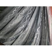 Тюль - полуорганза - Вертикалка- волна 0008-Л фото