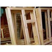 Блок оконный деревянный фото