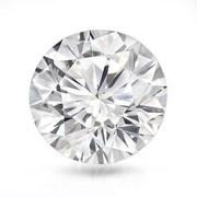 Бриллиант круглой формы 63,87 карат, цвет D, чистота VVS2, симметрия Excellent фото