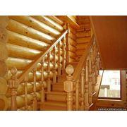 Элементы лестниц: поворотная площадка фото
