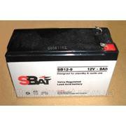 Аккумулятор Sbat SB12-9Ah фото