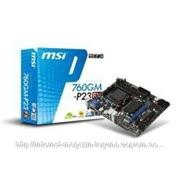 МВ MSI 760GM-P23 (FX) AM3+ amd 760G/SB710, AM3, DDR3 1600(OC), 1xPCI-E 16x, 6xSATA2, 1xIDE, 1х1Gb Lan, SB 7.1, mATX, BOX фото
