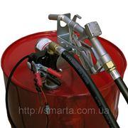 Узел для заправки и перекачки дизельного топлива из бочки PTP 12В, 40 л/мин фото