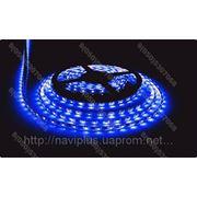 LED лента SMD 3528, герметичная, 60 шт/м, синяя