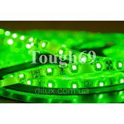 Светодиодная лента Led 3528 60шт/1м влагозащищенная IP55 зеленая
