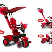"""Велосипед Smart Trike ZOO """"Ladybird"""" 3-колесный красный с ручкой 3 в 1 фото"""