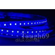 Светодиодная лента Led 3528 120шт/1м влагозащищенная IP55 синяя фото