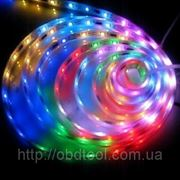 1 метр LED smd 5050 подсветка днища авто RGB лента 60 шт\м полноцветная, водонепроницаемая фото