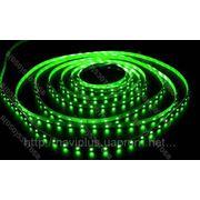 LED лента SMD 3528, герметичная, 60 шт/м, зеленая фото