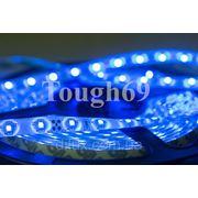 Светодиодная лента Led 3528 60шт/1м влагозащищенная IP55 синяя