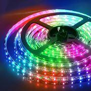 Акция! Комплект светодиодной RGB ленты 5050 на 60 светодиодов с влагозащитой. фото