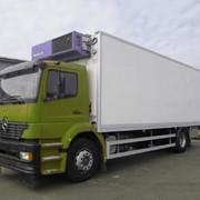 Доставка грузов от 100кг до 20т рефрежераторами фото