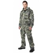 Костюм Тигр летний (куртка, брюки) (ткань смесовая) КМФ Степь фото