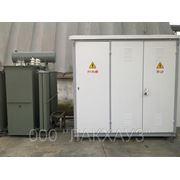 Комплектные трансформаторные подстанции ктп-1 — 25...630\10 (6)\0,4 У1 фото