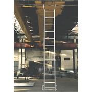 Лестница навесная алюминиевая с крюками (ЛНА) фото