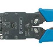 Инструмент для обжима компьютерных и телефонных разъемов КТР (КВТ), Оборудование обжимное фото