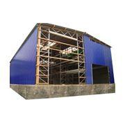 Быстровозводимые склады представляют собой конструкцию где несущими элементами являются сами стеллажи за счет чего достигается существенная экономия на каркасе здания а также максимально использовать площадь и высоту склада фото