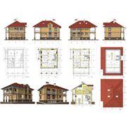 Проекты типовые домов и коттеджей в г. Астана фото