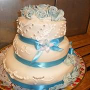 Торт многоярусный 10 фото